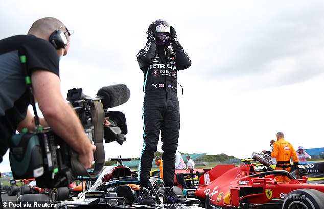 The British star won his seventh British Grand Prix title in highly impressive fashion