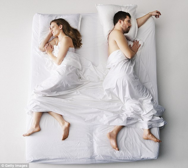 Most medical research shows couples who share a bed tend to live longer, but many married women say it