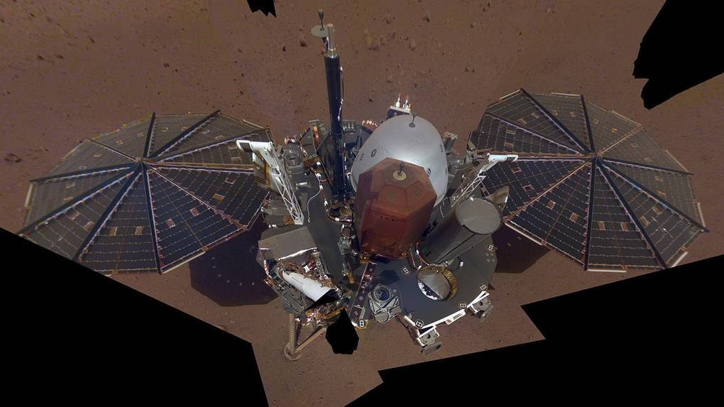 Аппарат InSight NASA/JPL-Caltech via AP