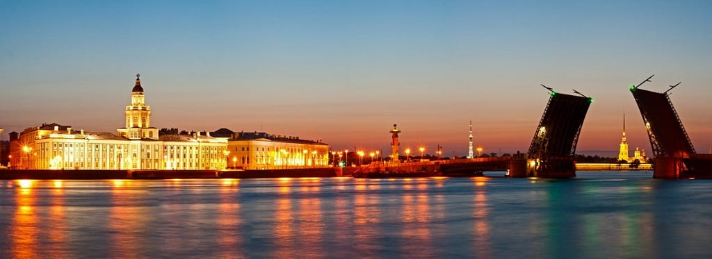 White nights of St. Petersburg