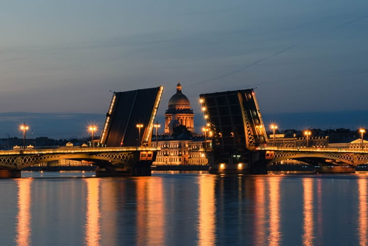 St. Petersburg is a city with a rich history
