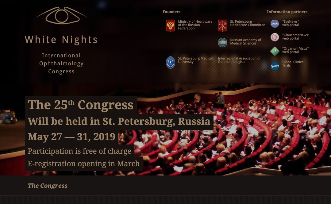 White Nights - International Ophthalmology Congress