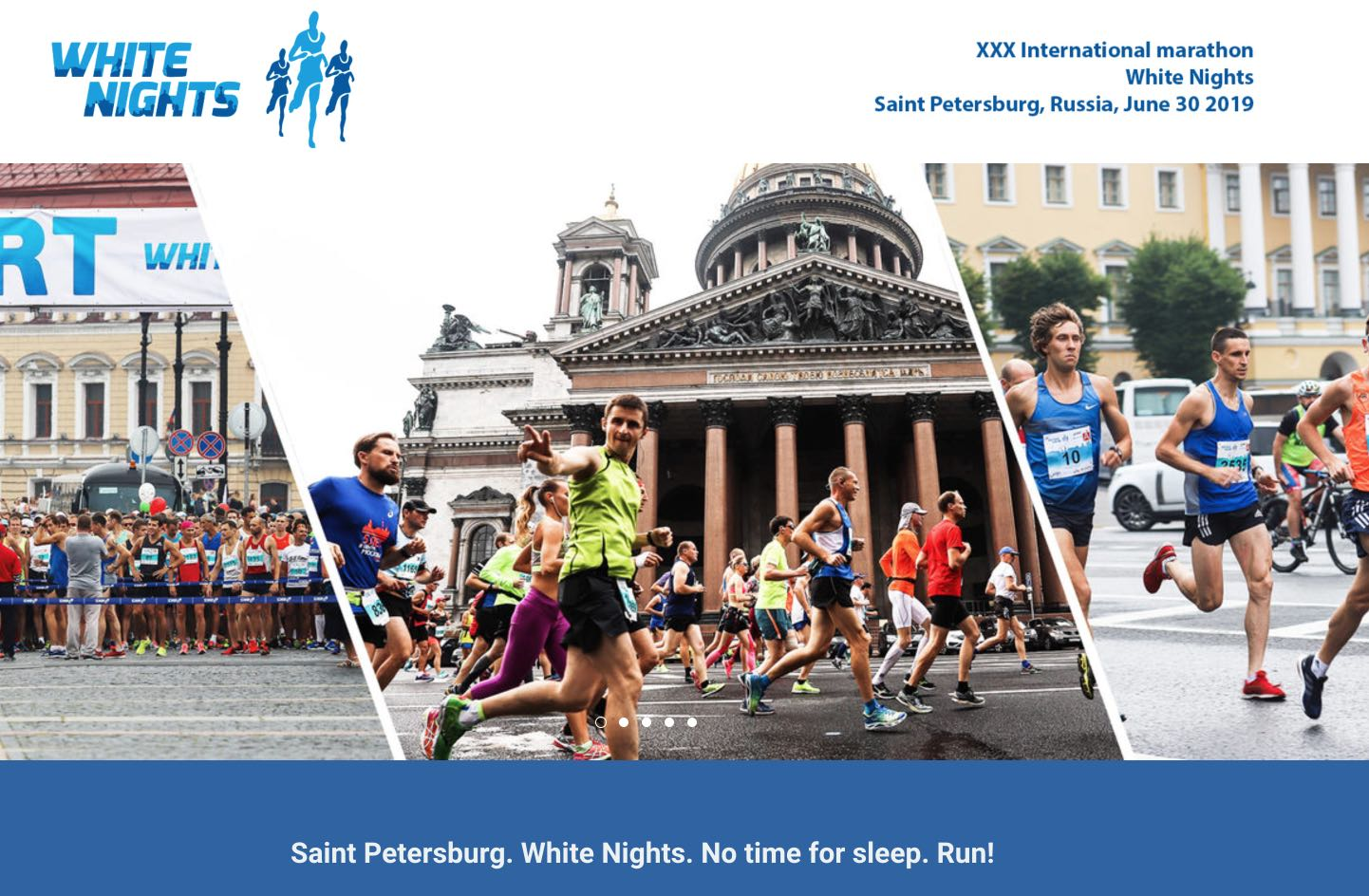 White Nights Marathon St Petersburg