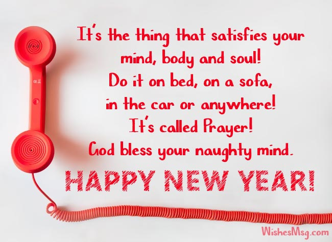 Funny New Year Greeting